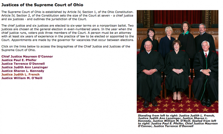 Ohio Supreme Court