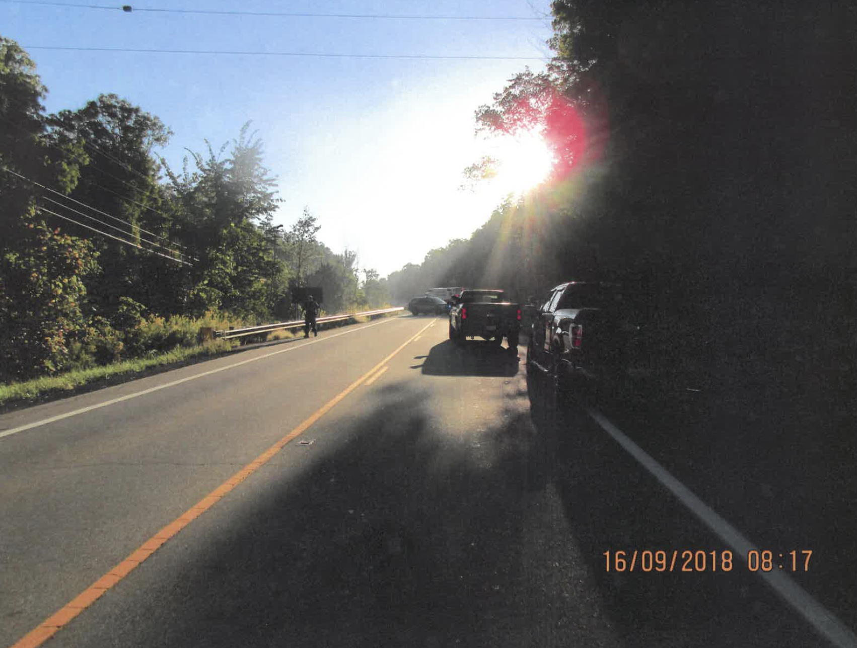 "GUILTY PLEA IN A ""SUN GLARE"" CASE 